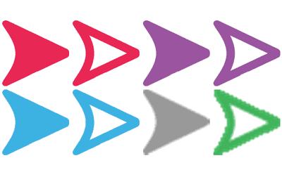 معنى الأسهم في الرسائل المرسلة في سناب شات