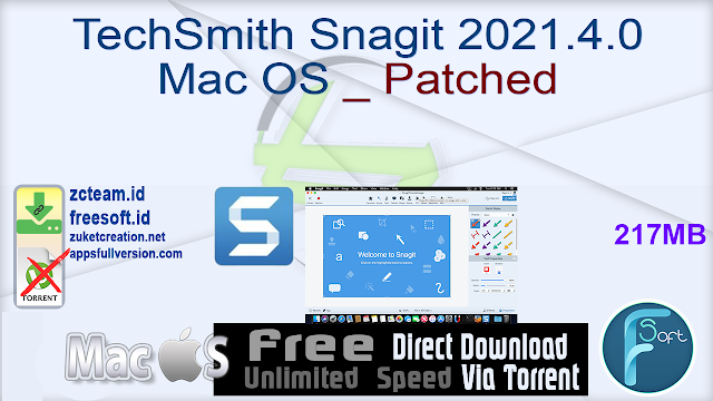 TechSmith Snagit 2021.4.0 Mac OS _ Patched_ ZcTeam.id