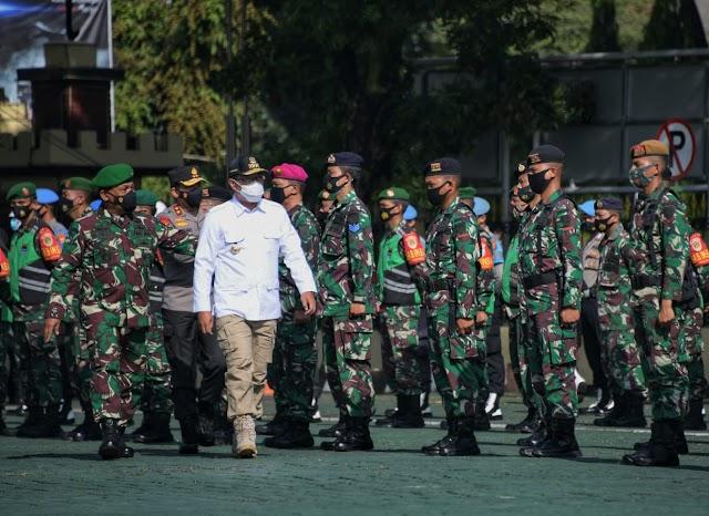 Pilkada Serentak 2020: Gubernur Jabar Ajak TNI/Polri Edukasi Masyarakat Terapkan Prokes 3M