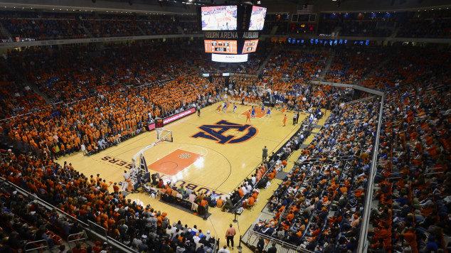 Auburn Arena 2015 Kentucky