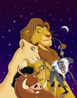 Lion King Disney Adventures cover art
