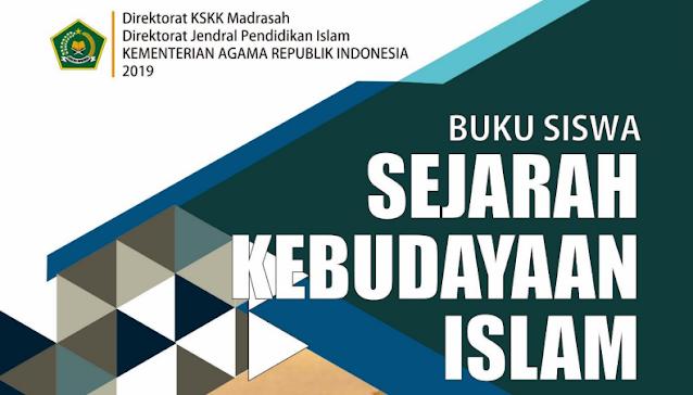Buku Siswa SKI (Sejarah Kebudayaan Islam) MI Kelas 3, 4 dan 6