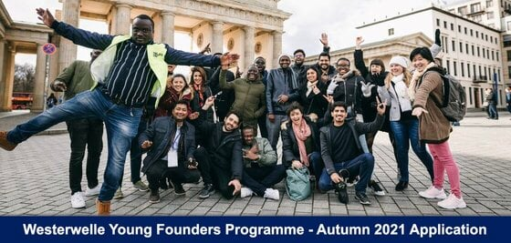 Fully Funded Westerwelle Young Founders Programme for young Entrepreneurs from developing countries