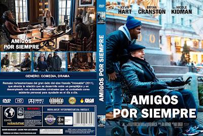 CARATULAAMIGOS POR SIEMPRE - THE UPSIDE - 2018 [COVER DVD]