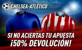 sportium promo champions Chelsea vs Atletico 17-3-2021