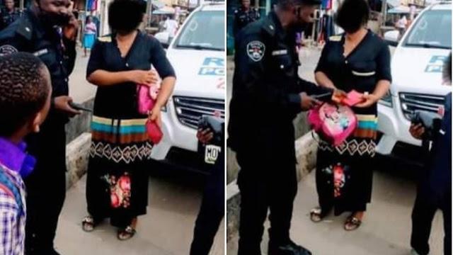 After #EndSARS: Nigeria Police Morals Now Commendable, As RRS On Patrol Returns N115,000.