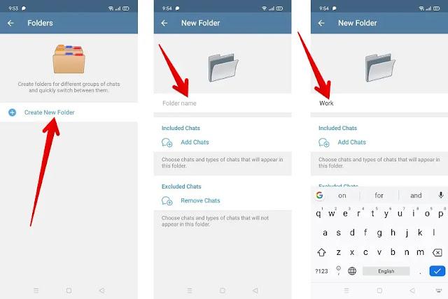 كيفية إنشاء مجلدات للمحادثات في تطبيق تيليجرام لتنظيم محادثاتك؟