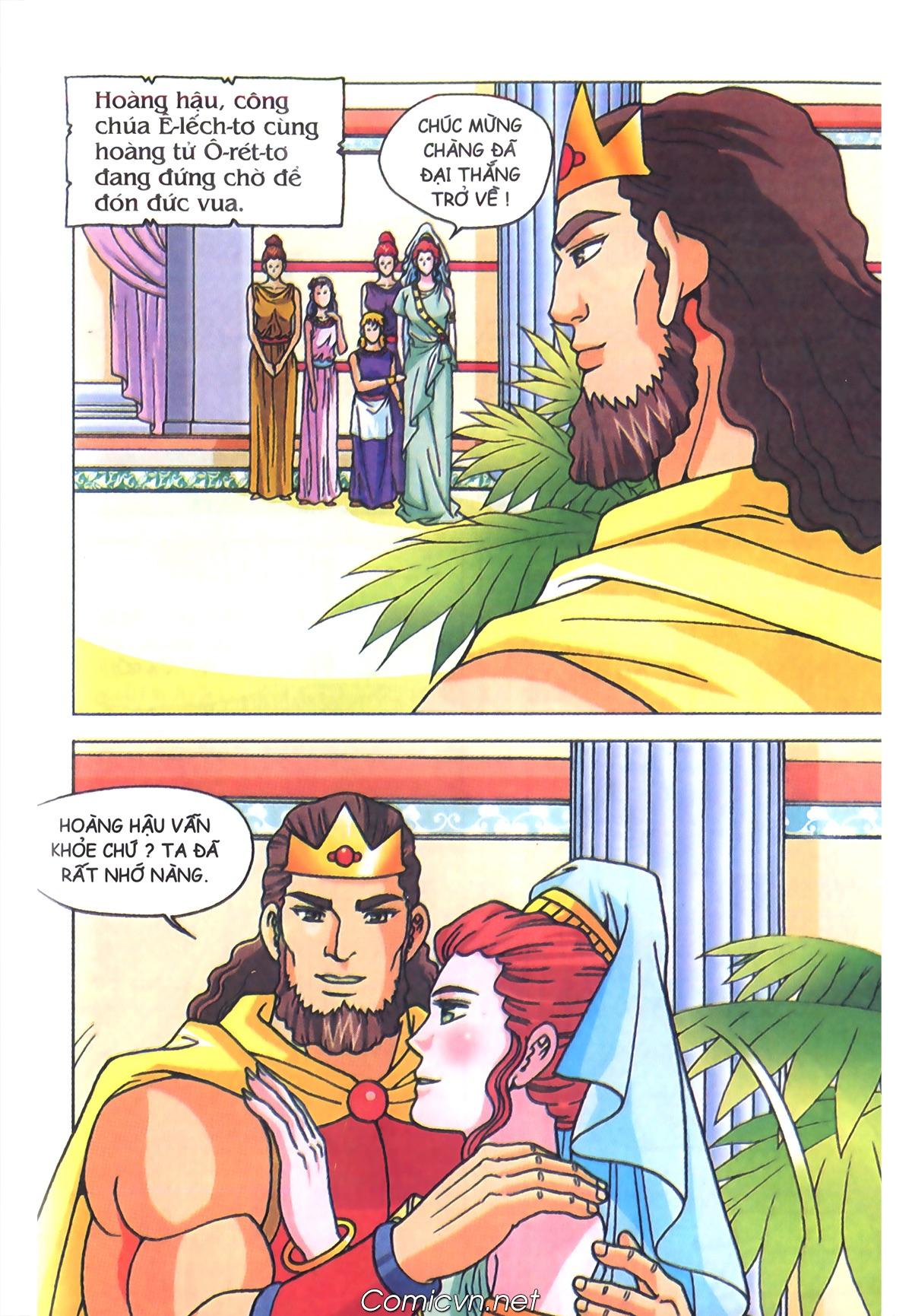 Thần Thoại Hy Lạp Màu - Chapter 70: Nàng Ê lếch tơ - Pic 10