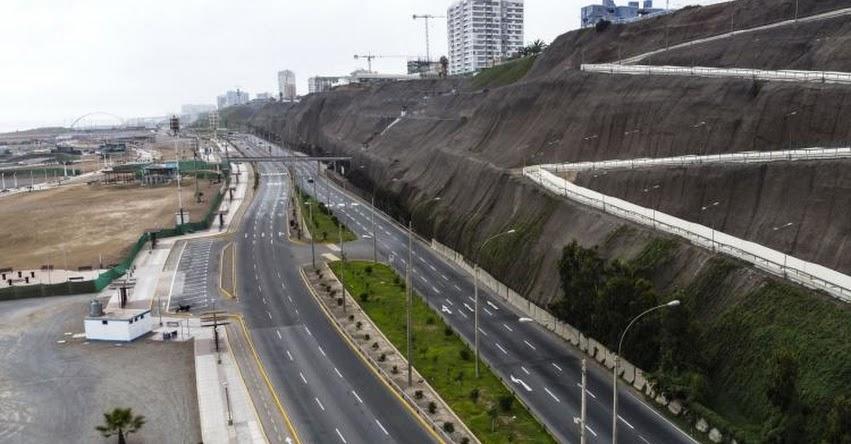 Costa Verde, Javier Prado y Paseo de la República estarán cerradas al tránsito los días 24, 25, 31 de Diciembre y 1 de Enero
