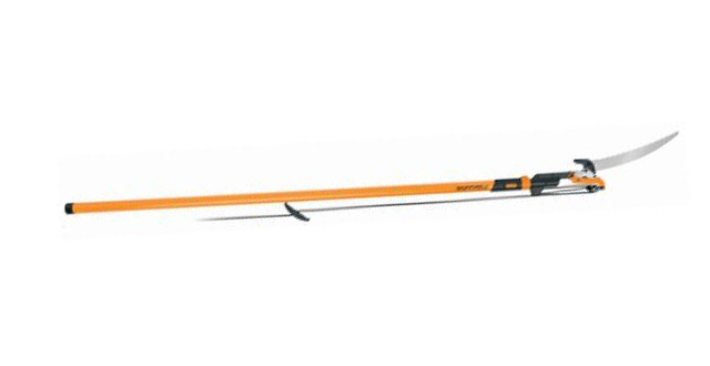 Fiskars 7' - 14' Power-Lever Extendable Pole Saw & Pruner