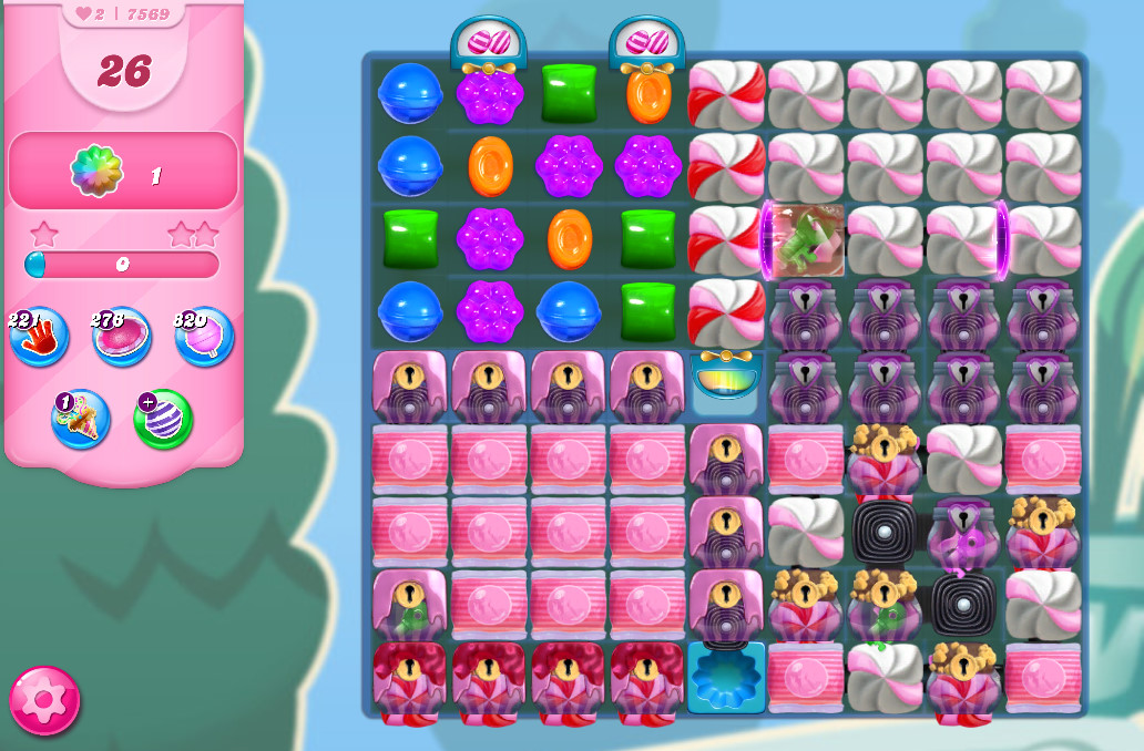 Candy Crush Saga level 7569