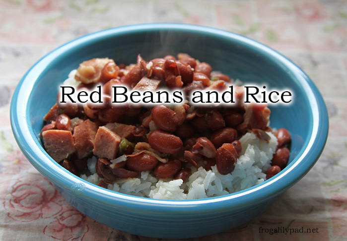 A Somewhat Frugal Version of Red Beans and Rice