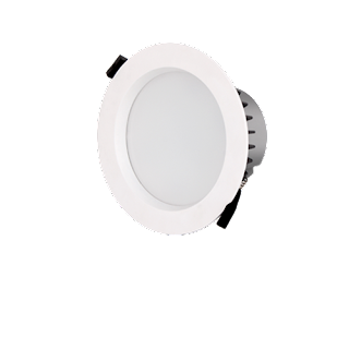 LED Premium Downlight Round ∅19x7.7CM Cut Out: ∅17CM 100-240V 120 Degree 5000K IP44 Epistar 2835 75 83RA 1275LM 0.9 85LM/W 15W White