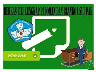Berkas File Lengkap Pedoman dan Blanko Usul DUPAK