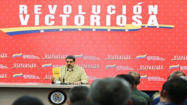 Presidente Nicolás Maduro denuncia nuevos planes desde EE.UU. para desestabilizar a Venezuela