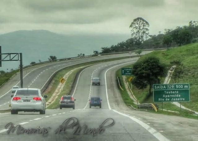 Ruta desde Sao Paulo a Buzios  por la costa