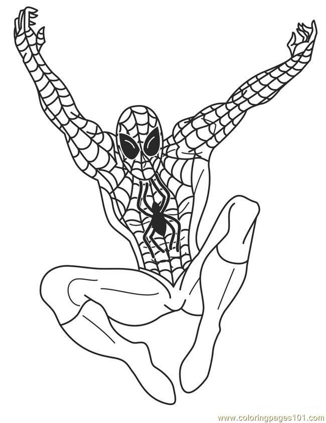 Superhero printable coloring pages superhero coloring pages for Superhero coloring pages free