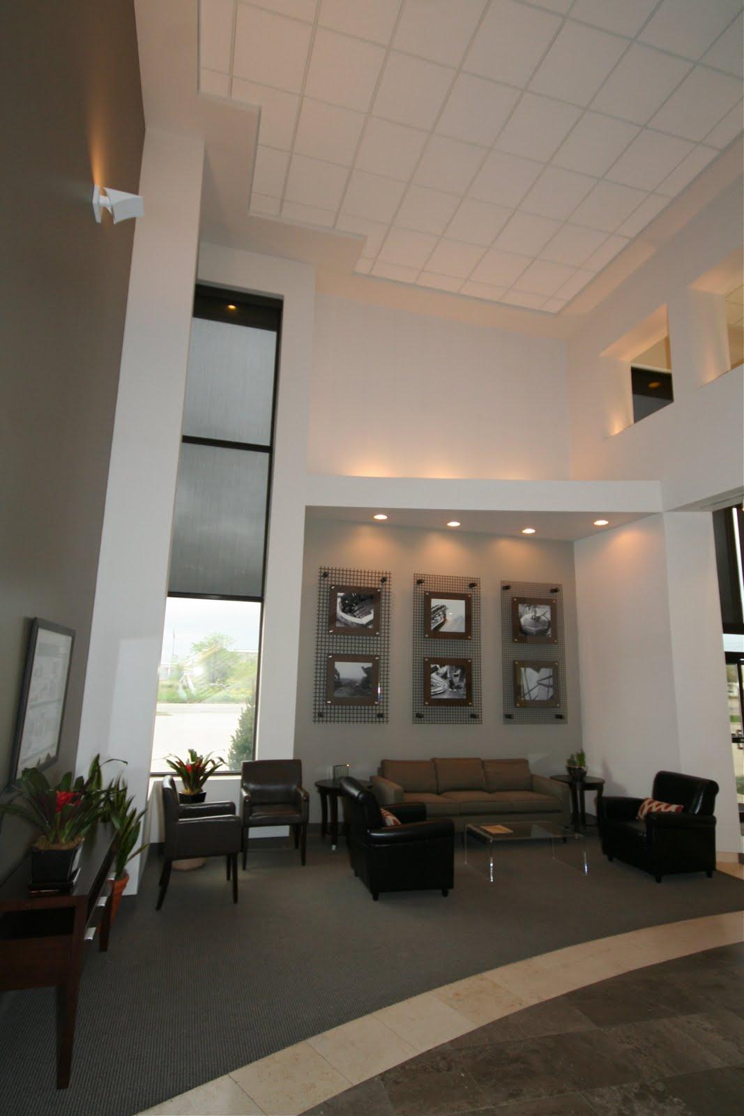 Design Dump Project Reveal Construction Office Lobby