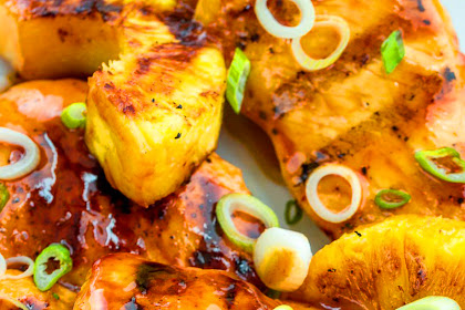 Aloha Grilled Chicken Recipe