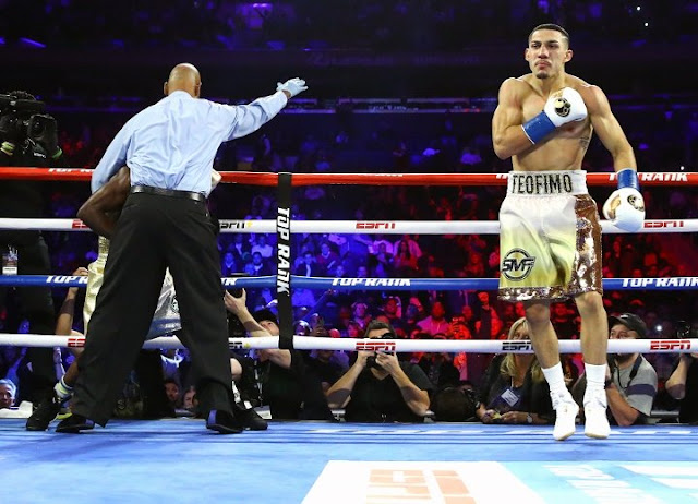 Teofimo Lopez Richard Commey 4