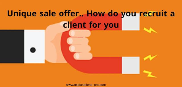 How do you recruit a client for you
