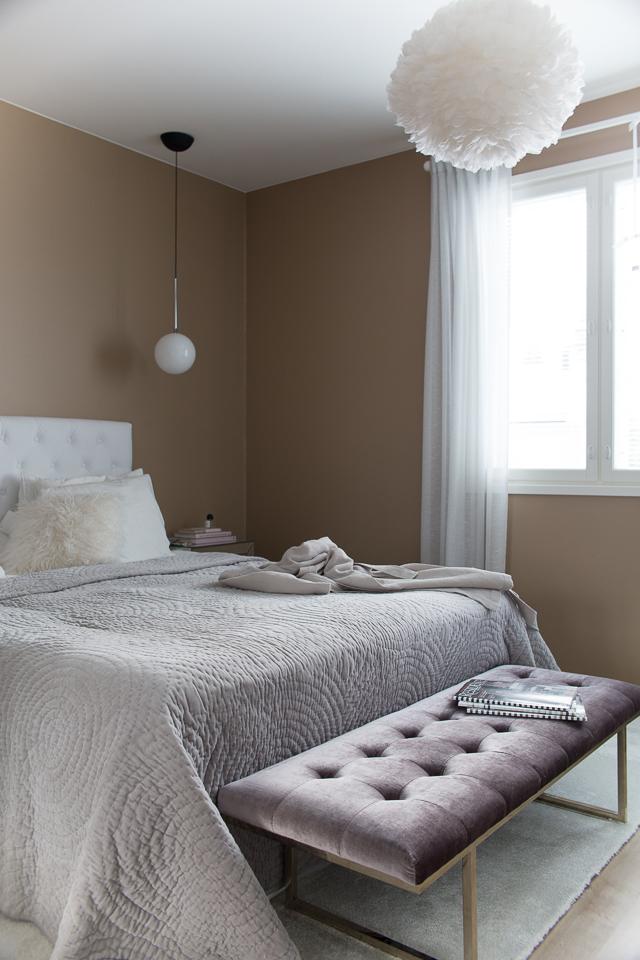 Makuuhuoneen sisustus, Villa H