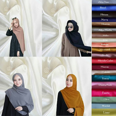 tutorial hijab segi empat paris