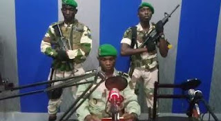 Gabon soldiers take over government