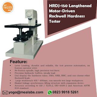 Alat Uji Kekerasan Rockwell HRDJ-150