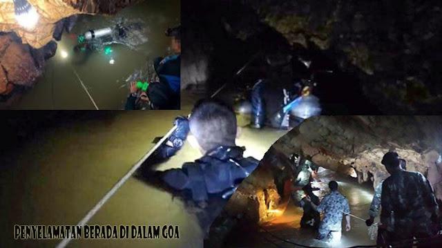 Penyelamatan Di Dalam Goa