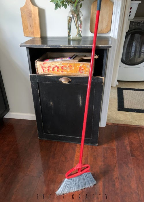 Sweeping the Floor is a daily task to help keep your home clean.