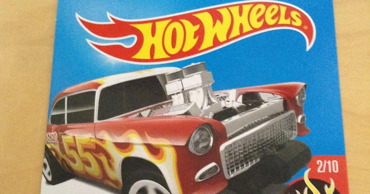 julian 39 s hot wheels blog 1955 chevy bel air gasser 2017 hw flames. Black Bedroom Furniture Sets. Home Design Ideas