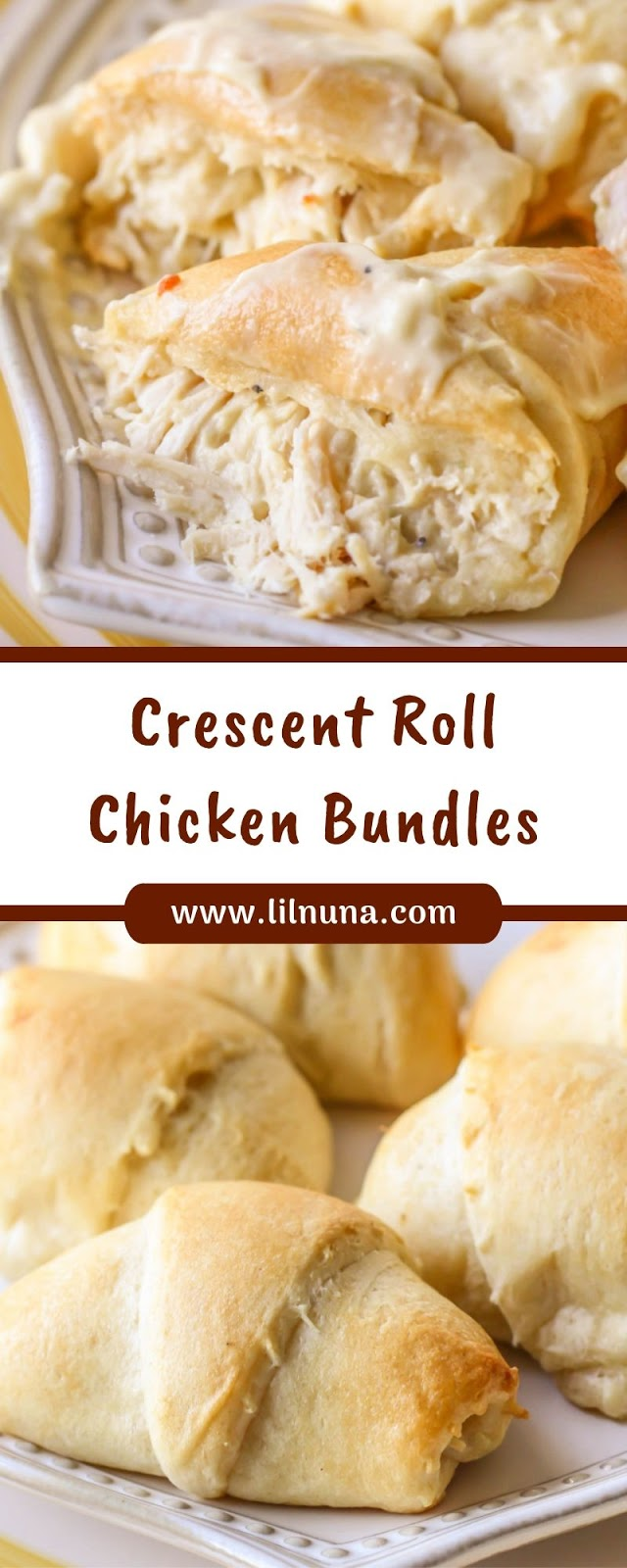 Crescent Roll Chicken Bundles
