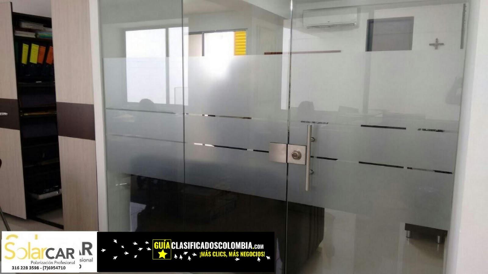 INSTALACION DE POLARIZADOS IMPORTADOS EN BUCARAMANGA