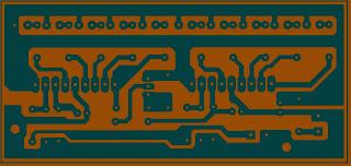 Rangkaian LED 10 Bar Untuk Mixer atau untuk aksesoris Audio
