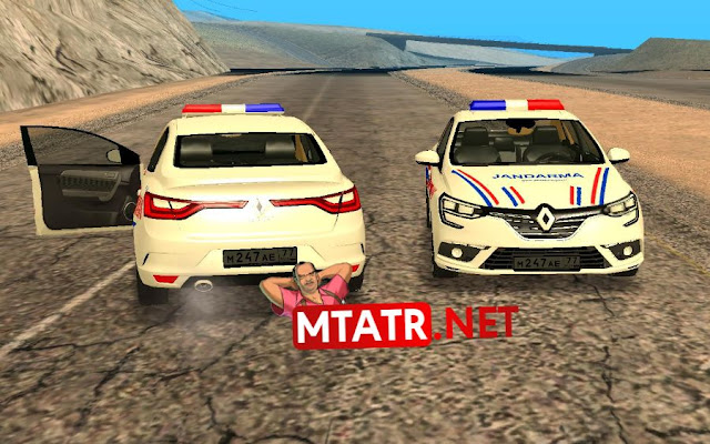 MTASA Renault Megane Jandarma