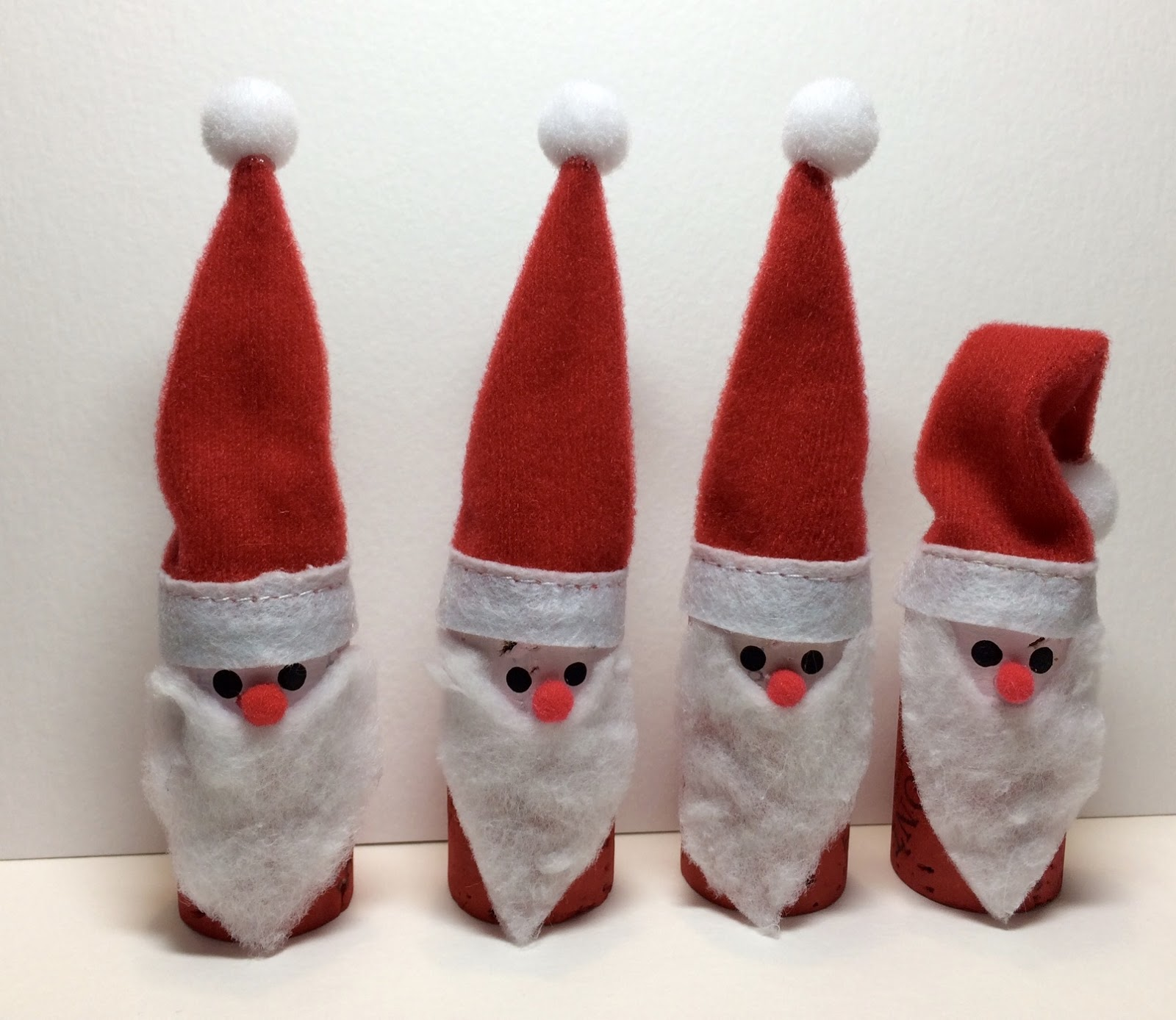 Santa Hat Chair Back Covers Hobby Lobby Bedroom With Storage Kathy 39s Angelnik Designs And Art Project Ideas Wine Cork