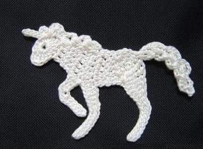Patrón #1299: Figura de Caballo a Crochet