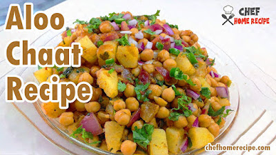 Aloo Chaat Recipe at Home -  chefhomerecipe.com