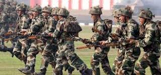 Indian Army Babina Rally 2018