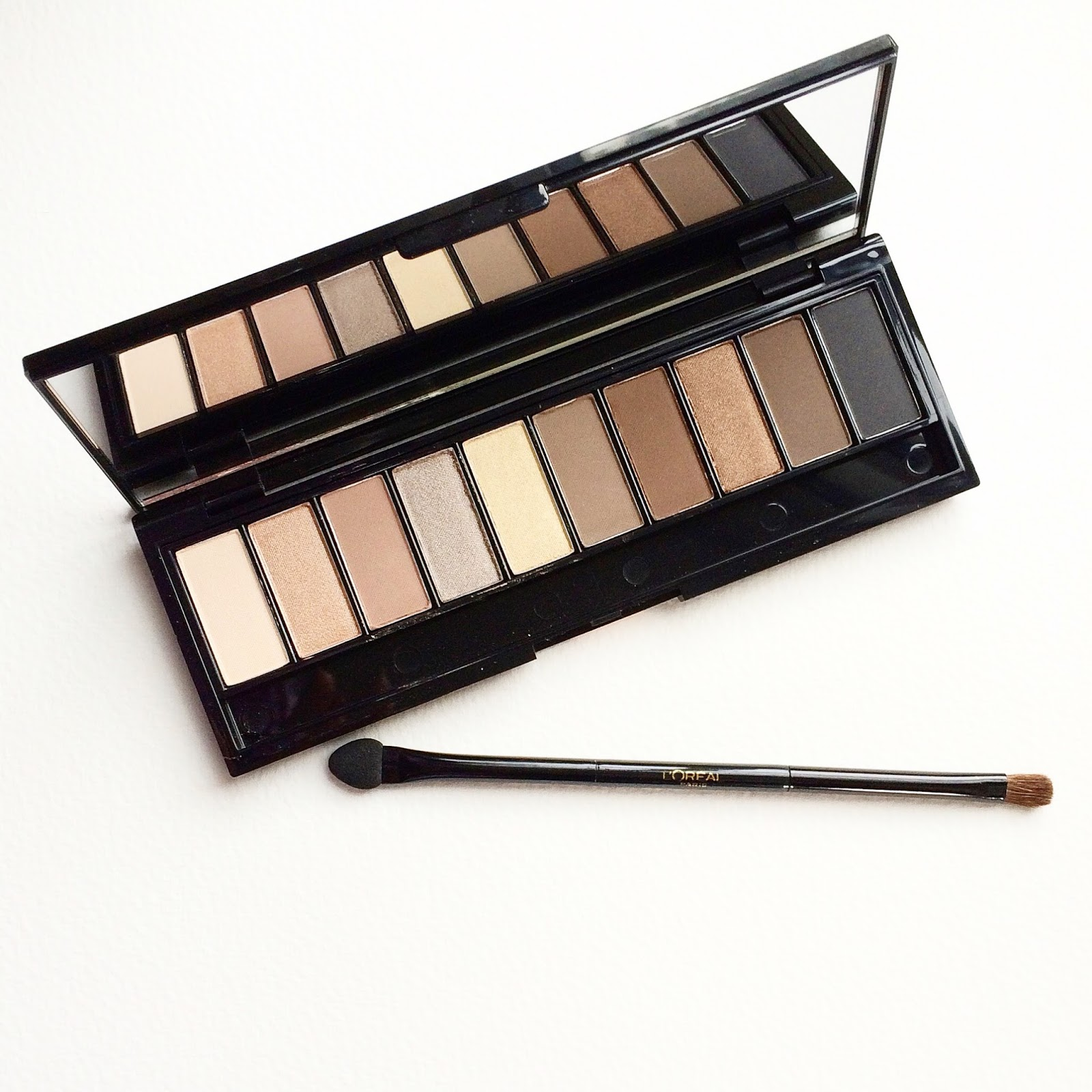 LOreal Paris Colour Riche La Palette Eye Shadow, Nude