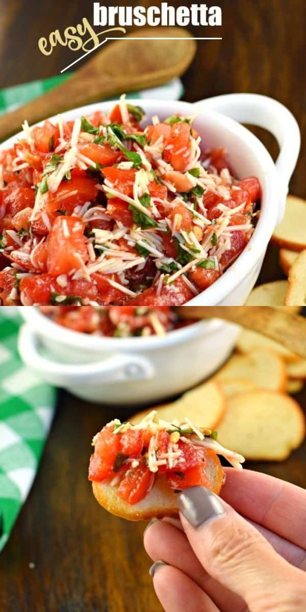 Bruschetta #appetizerrecipes
