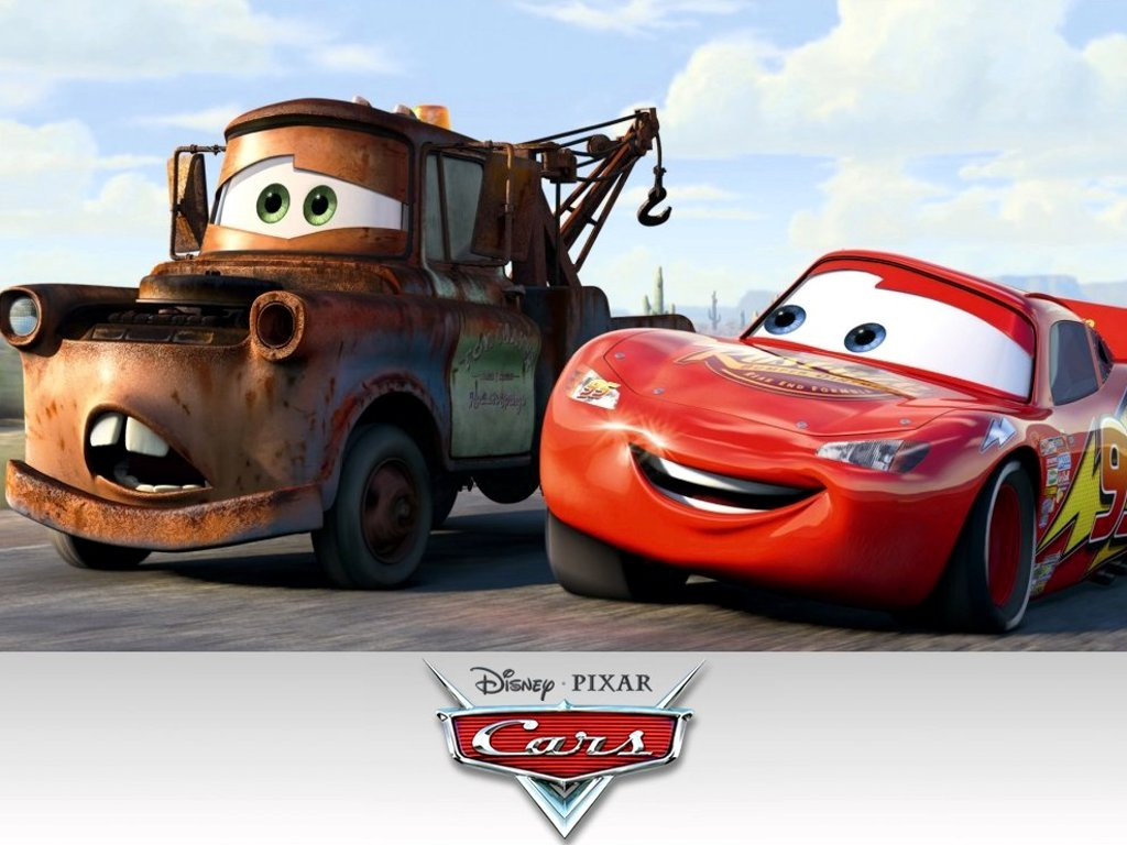cars wallpapers mcqueen mater lightning disney film 2006 background pixar movies cast character characters tow mator peliculas motori ruggenti clouds