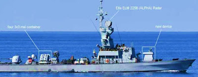 Mysterious Device On Israeli Navy Missile Ship