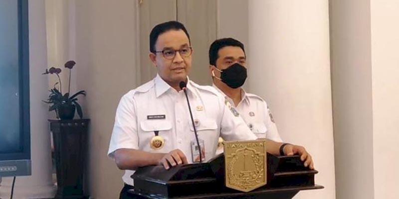 Terbitkan Kepgub 51/2021, Anies Baswedan Perpanjang PSBB Jakarta Hingga 8 Februari