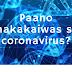 Paano maiiwasan ang sakit na coronavirus?