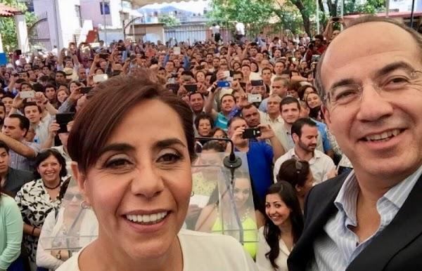Hermana de Calderón renuncia al PAN y va por diputación por la vía independiente.