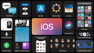 أبل Apple  تعلن عن نظام التشغيل iOS 14 Beta التجريبية