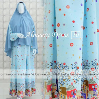 Gamis Jasmine Almeera Dress 50