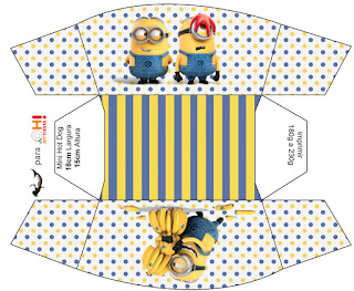 minions the movie free printable boxes oh my fiesta in english. Black Bedroom Furniture Sets. Home Design Ideas